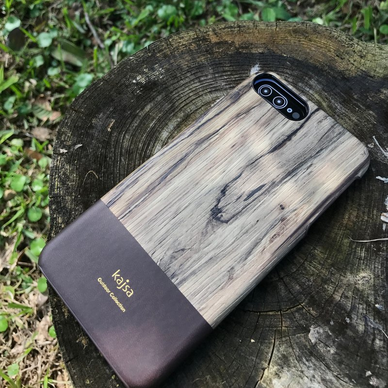 Rosewood single cover mobile phone case deep coffee