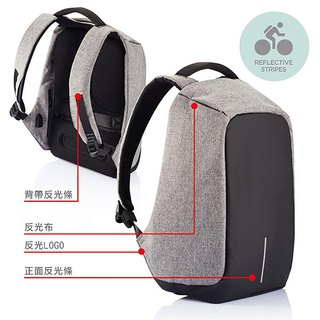 XDDESIGN BOBBY XL ultimate security anti-theft backpack is greatly gray