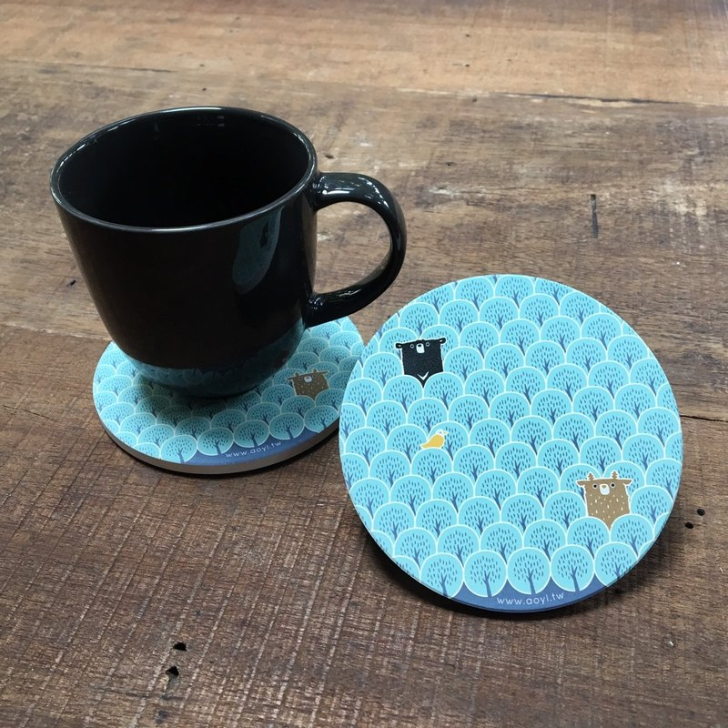 Taiwanimal Bay A Mackey _ ceramic coaster