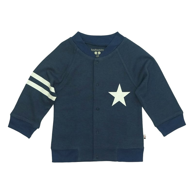 [Pre-order] American Babysoy Organic Cotton Retro Star Jacket _ Zhang Qing