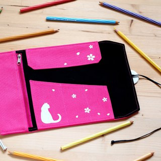 Cherry Blossom Pencil Case (Pink)