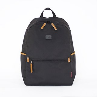 Super Light Oxford Nylon Backpack / Black