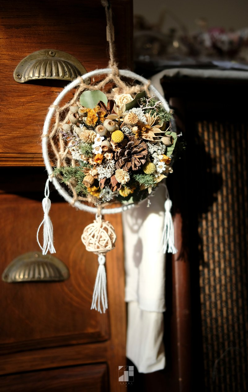 【Workshops】9/17, 9/18, 9/19 | Dry Flower Dream Catcher | Floral Art Institute |