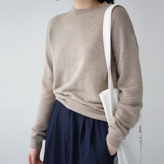 ee18/ Cocoa Brown Sweater