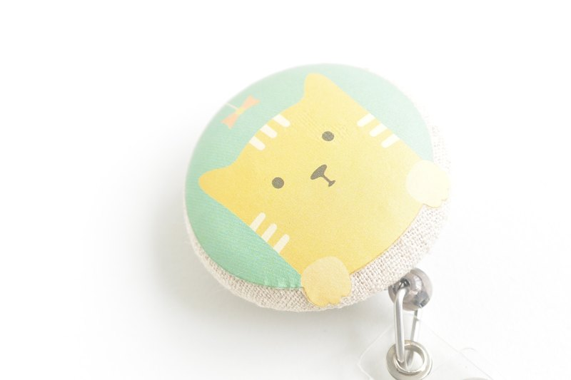 Telescopic handle cloth buckle purse - Cat