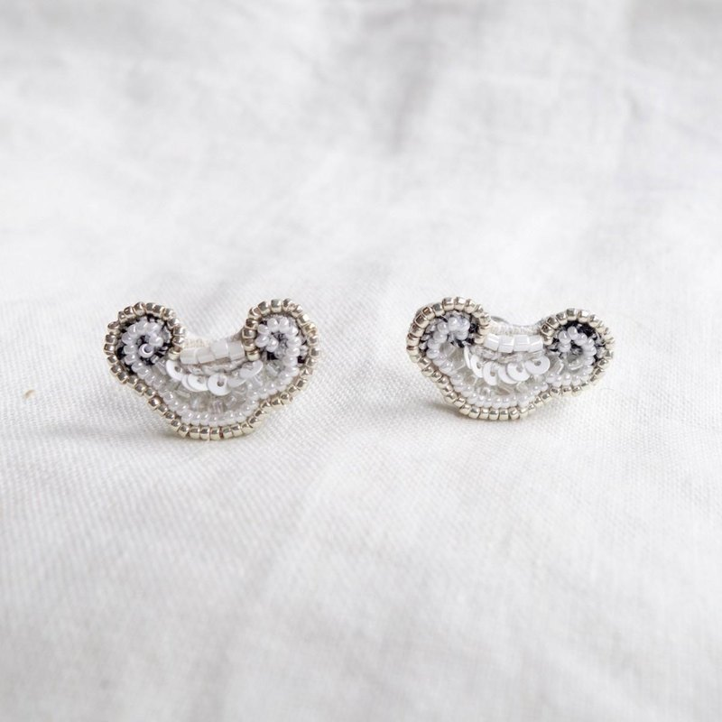 Cloud shaped earrings a