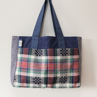 Brut Cake handmade fabric - tote bag (1) , big capacity