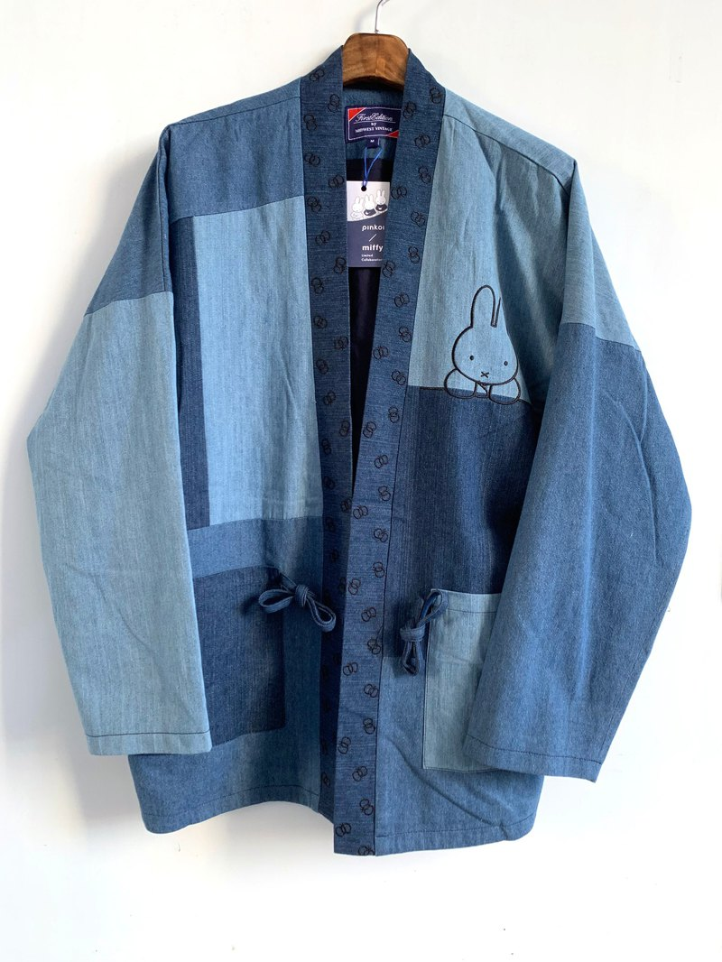 Miffy x First Edition blue denim Kimono - limited by Hong Kong, Taiwan and Australia