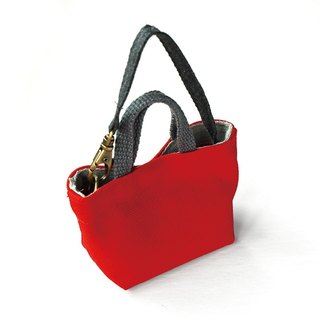 Pocket Eco Bag/Red + Vest Bag