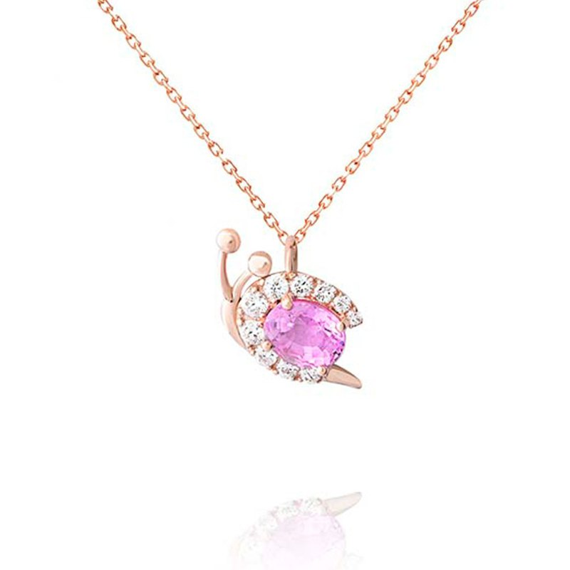 [brilliantia] 10K powder spring language - necklace - ( PT0312 )