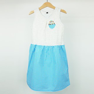 Urb ice girl vest stitching dress