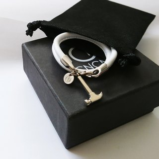 H5  (Silver White Bracelet and necklace)