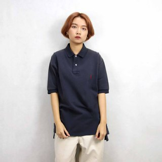 Tsubasa.Y Ancient House 010 Dark Blue Ralph Lauren POLO Shirt, Vintage Vintage