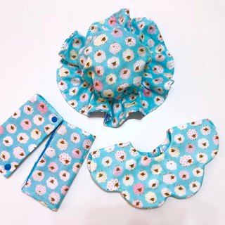 Small cotton sheep (blue) / Mi Yue gift box 3 pieces. Can be customized different colors.