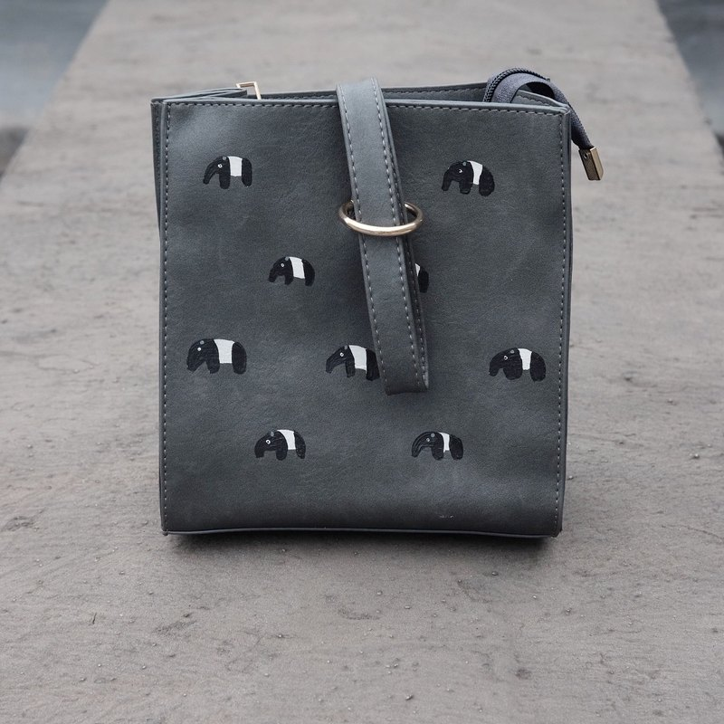 Tapir Box Zipper Bag