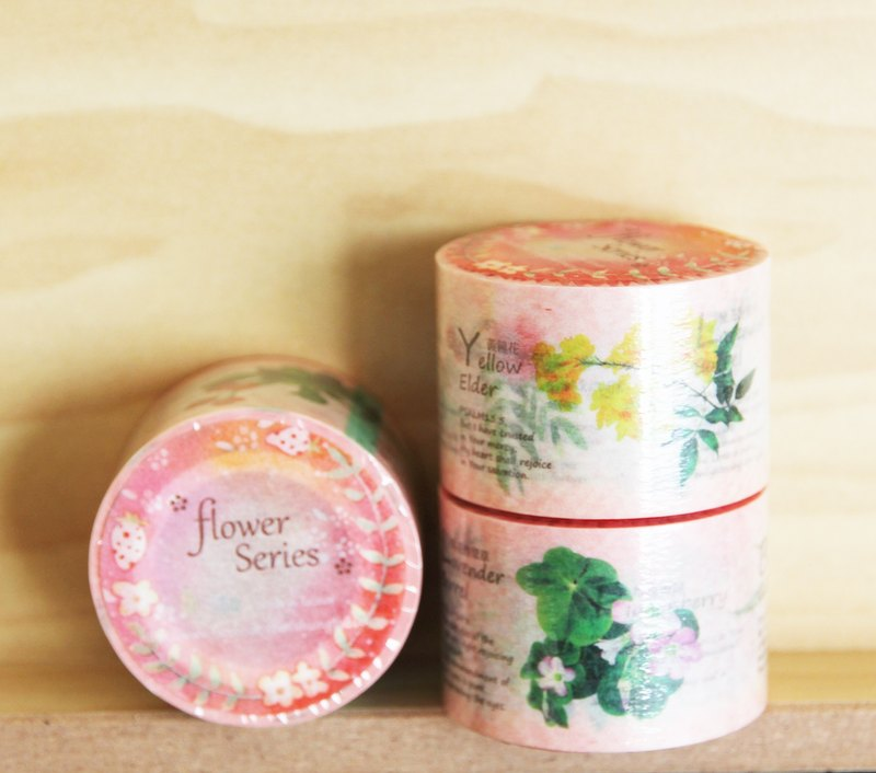 Xiang-NSJ hand-painted flower series gospel tape (10 figure loop)