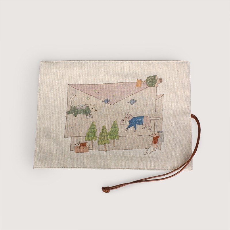 Pencil case - Dog &cat