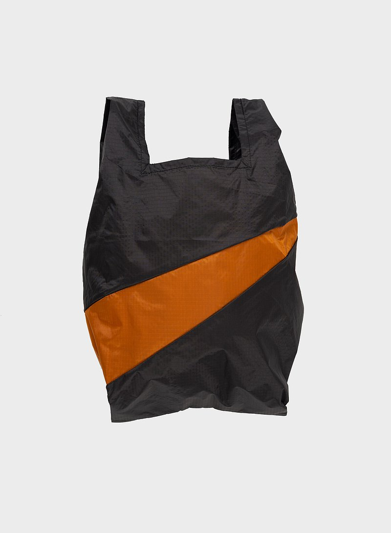 Shopping Bag, Black & Sample 防潑水輕量提袋 黑/咖啡