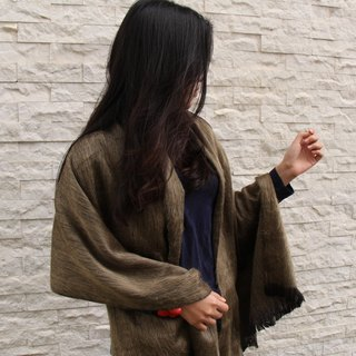 Vista [knowledge], South America, hand-made alpaca shawl - long-haired subsection 2016 (A / W)