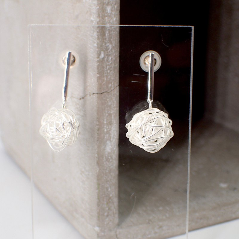 E11043 Starry Night Over the Rhone Silver 925 Earrings