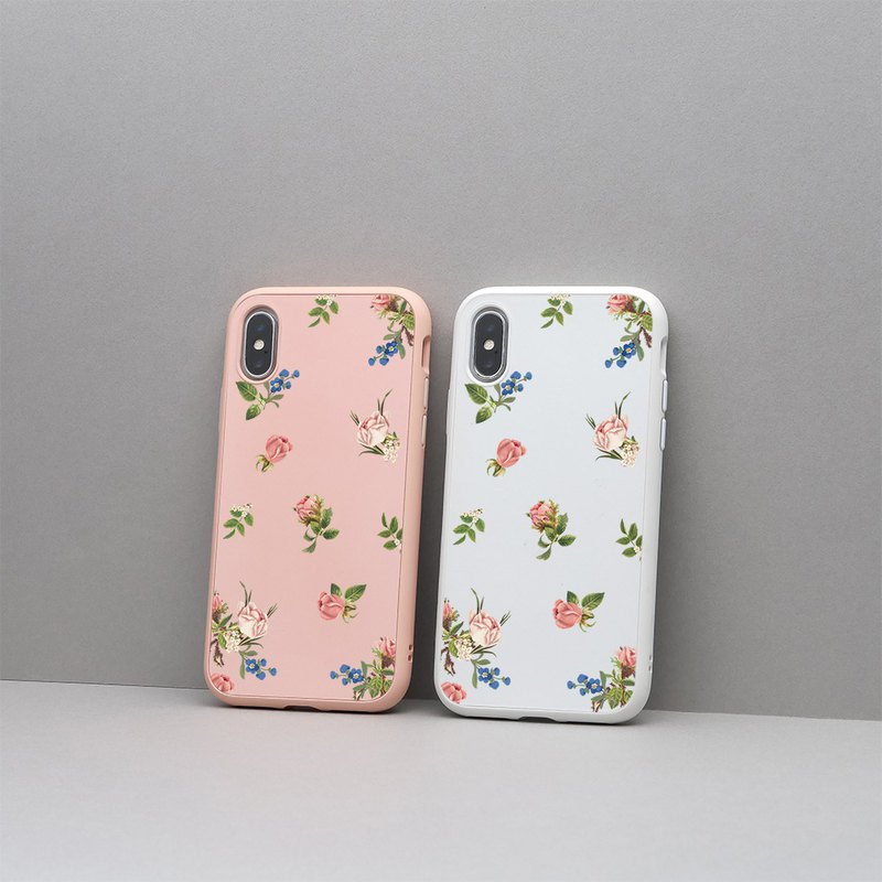 SolidSuit classic anti-drop mobile phone shell / flowers and plants - love sinus for the iPhone