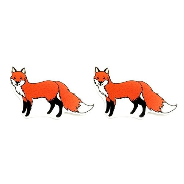 1212 design fun funny stickers waterproof stickers everywhere - Fantastic Mr. Fox