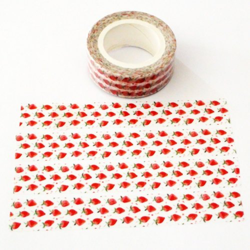 Masking Tape Strawberry Rhapsody