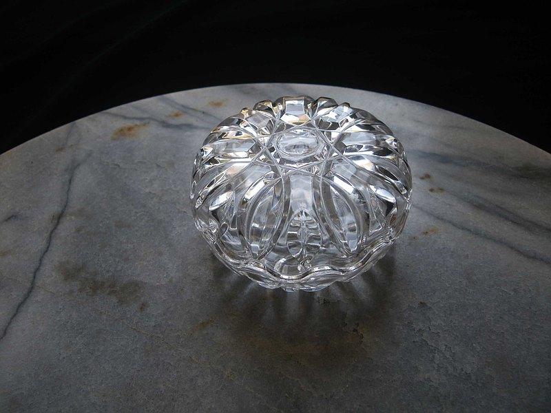 【老時光 OLD-TIME】早期水晶珠寶盒
