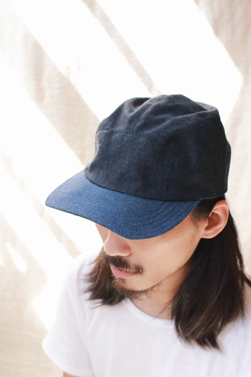 OMAKE reversible chari cap / double-sided wear / gray bottom