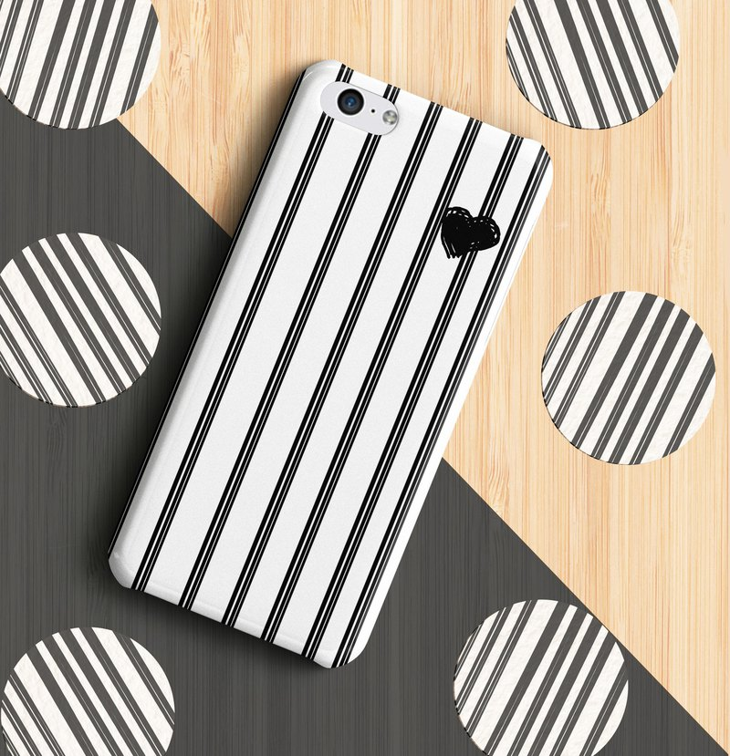 heart n stripes phone case