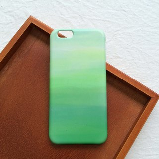 Leaf green mobile phone shell hard shell iPhone Android