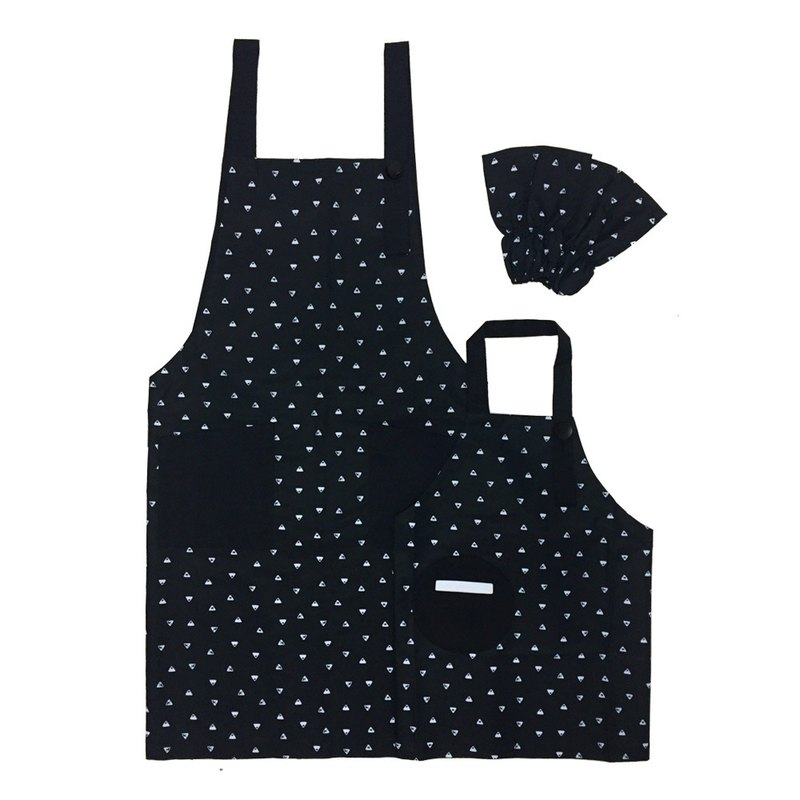 OGG Geometry Classic Parent-child Work Apron - Rows of Hills
