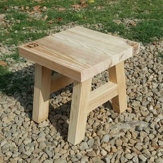 [Bear Ken wood workshop] // custom / removable small wooden chair