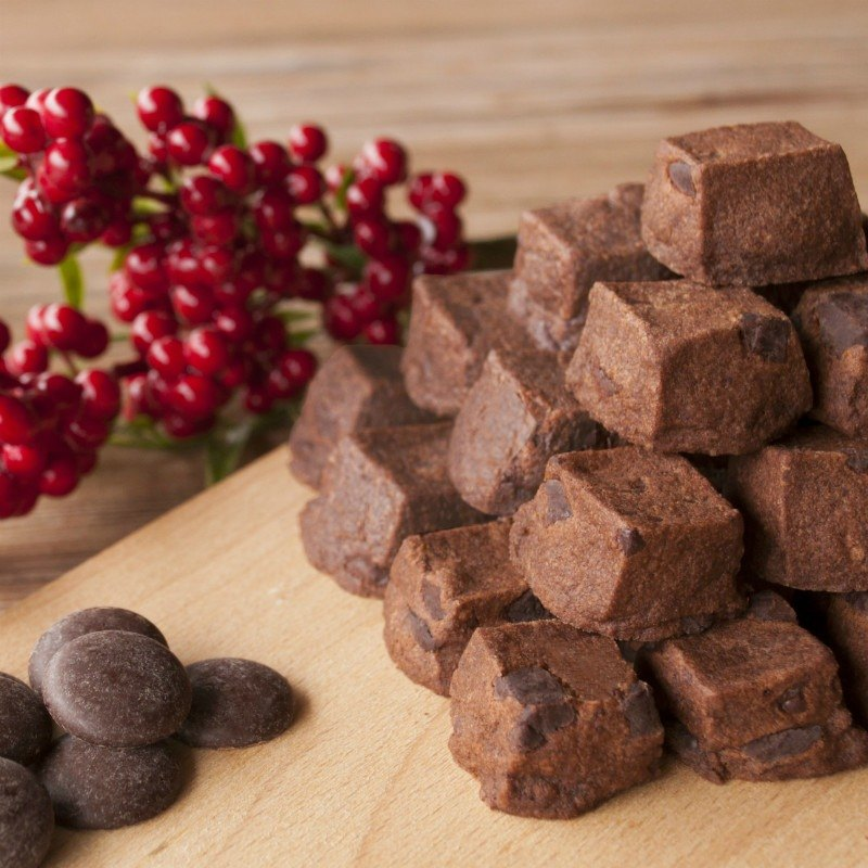 [Chambery] chocolate salt flower / rich French taste / handmade biscuits / with gifts