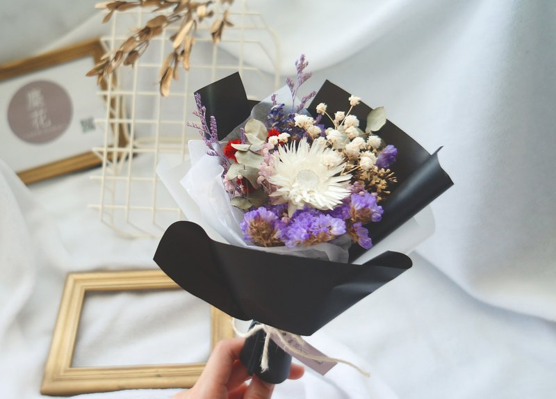 Amor Floral-dried flower bouquet (A) / shooting props wedding small things get married