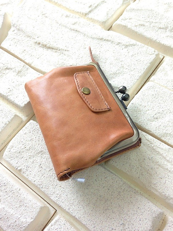 leather wallet pocket fold wallet cowhide