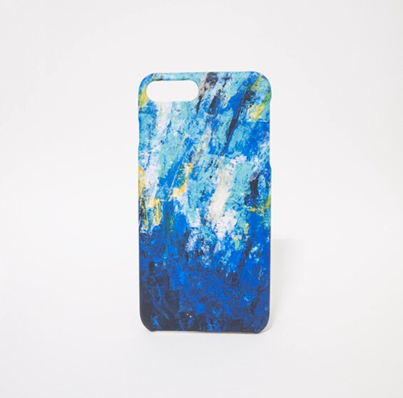 Spray / abstract painting transfer phone shell matte hard shell iPhone phone shell custom