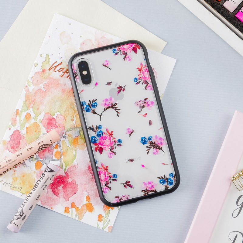 Cosmo Pink - iPhone Drop Phone Case/Floral Art Series