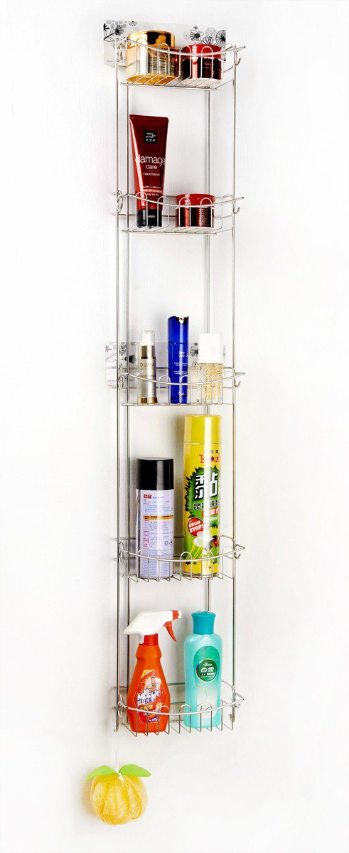 Long-sleeved bathroom rack kitchen storage rack for heroes