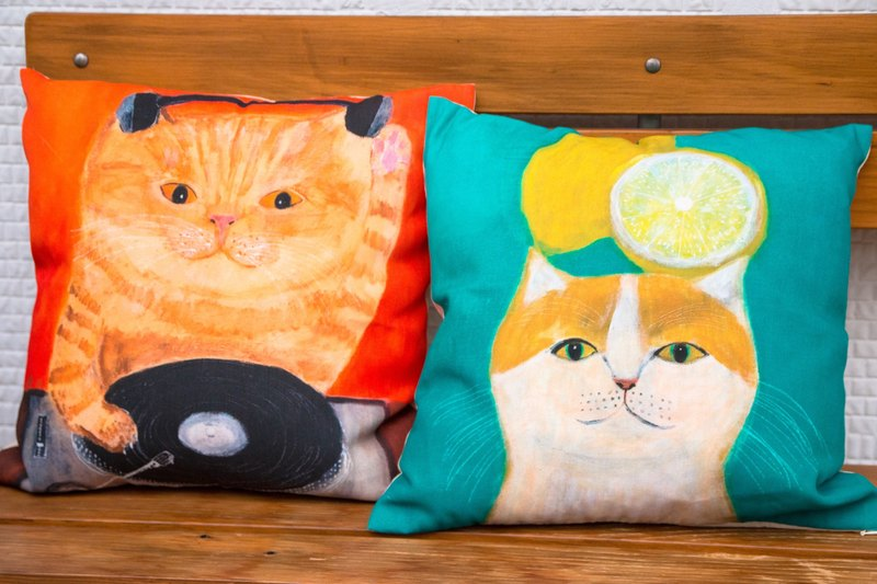 Cat pillowcase