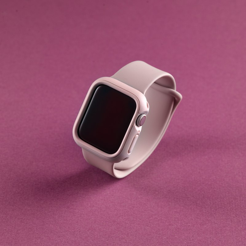 Apple Watch 1/2/3/4/5 Generation Crashguard NX Shatter-resistant Frame Protective Shell-Sakura Pink