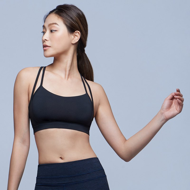 [MACACA] Invisible Support 3D BRA - ARA0621 Black/Black Net