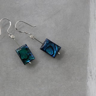 Kawagoe sea gift hand drop earrings for limited edition