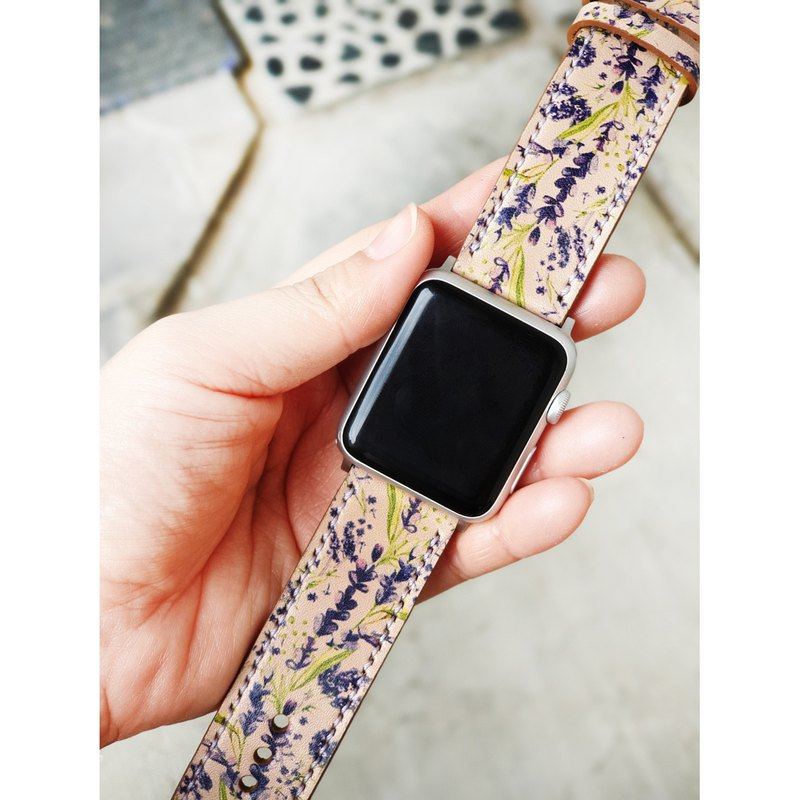 Apple Watch Band 38mm 42mm 40mm 44mm, HandStitched Handmade