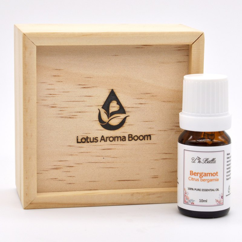 U le Bella bergamot essential oil (with wooden box)