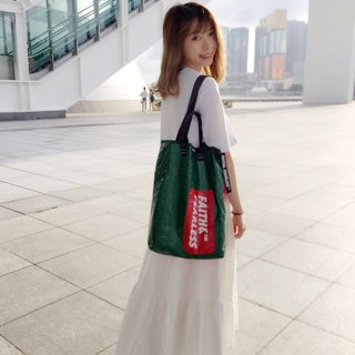 Faith & Fearless Tote Bag_WaterMelon