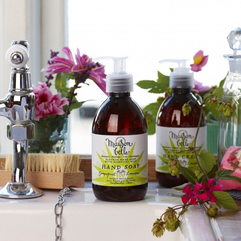 US Health and Belle plant extract essential oil hand soap