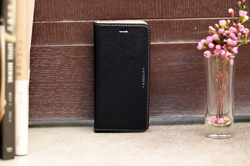 iPhone 6 /6S /4.7 inch Slipcase Series Leather Case - Black