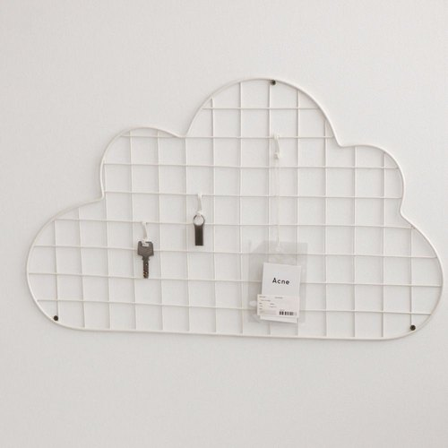 Dailylike Wall Grid Hook-04 Clouds, E2D47760