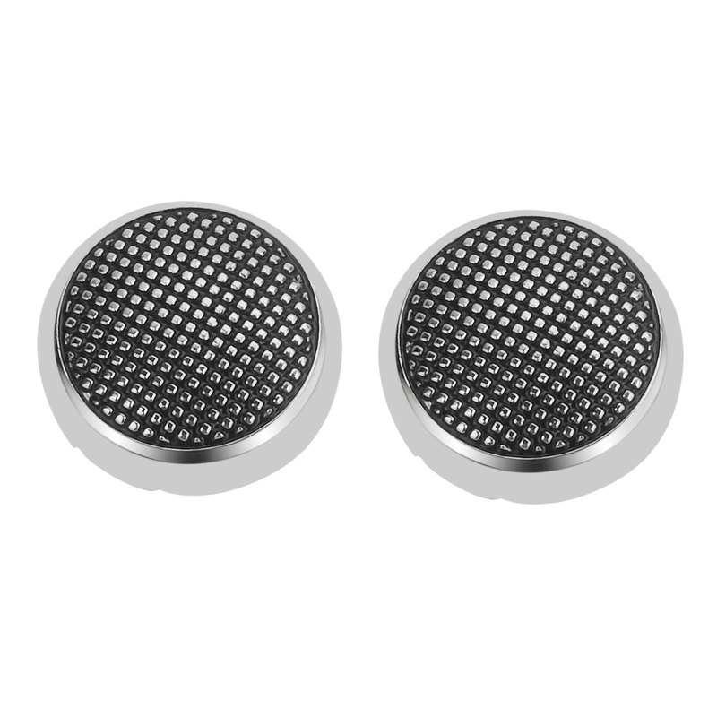 Silver Dotted Button Cover Cufflinks